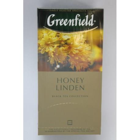 Чай GREENFIELD Honey Linden 25пак
