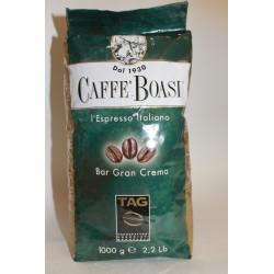 Кофе в зернах 1кг CAFFE BOASI BAR GRAN CREMA арабика 75 робуста 25