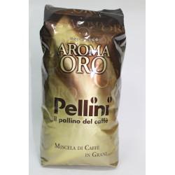 Кофе в зернах 1кг PELLINI AROMA ORO арабика 90 /робуста 10