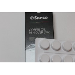 Таблетки для очистки кофемасел SAECO 10шт в уп.