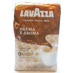 Кофе в зернах LAVAZZA CREMA e AROMA  1кг 80%арабика