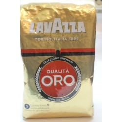 Кофе в зернах LAVAZZA QUALITA ORO  1кг 100%арабика